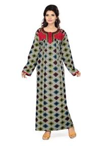 Ladies Full Sleeves Gown