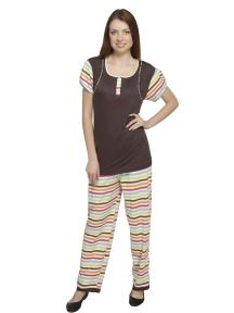 Dark Brown Pyjama