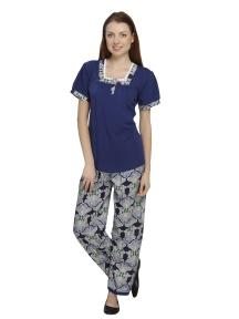 Ladies Blue Pyjama Set